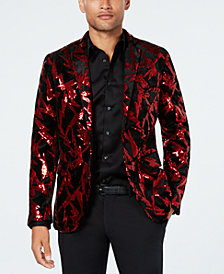 INC Men's Lightening Bolt Blazer, Created for Macy's
