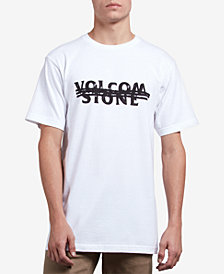 Volcom Men's Cross Out Logo Graphic T-Shirt