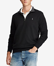 Polo Ralph Lauren Men's Jersey Quarter-Zip Pullover