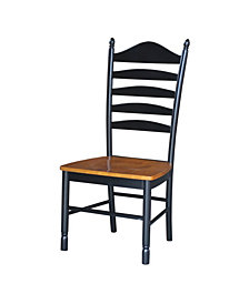 Tall Ladderback Chair, Set of 2