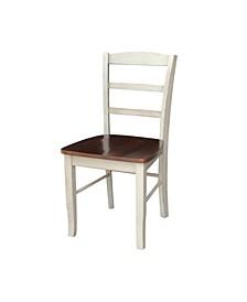 Madrid Ladderback Chair, Set of 2