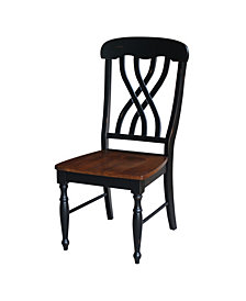 Latticeback Chair - Hand Rubbed Finish, Set of 2
