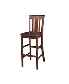 "San Remo Barheight Stool - 30"" Seat Height"