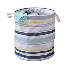 Honey Can Do Kids Collection Multi-Stripe Hamper
