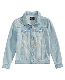 Jaywalker Big Boys Destructed Denim Trucker Jacket