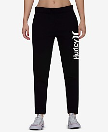 Hurley Juniors' One-and-Only Logo Jogger Pants