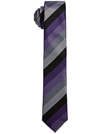 DNKY Big Boys Striped Necktie