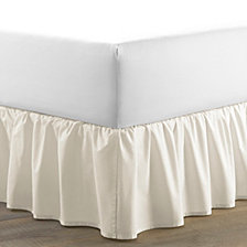 Laura Ashley Full Solid Ruffle Ivory Bedskirt