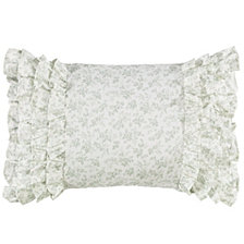 Laura Ashley Harper Green Breakfast Pillow