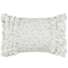 Laura Ashley Harper Green Breakfast Pillow
