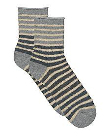 Lemon Noble Chenille Crew Sock