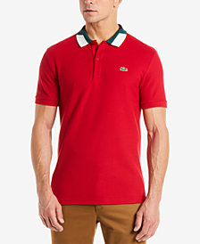 Lacoste Men's Semi-Fancy Colorblocked Collar Polo