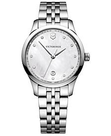 Women's Swiss Alliance Stainless Steel Bracelet Watch 35mm