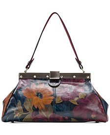 Patricia Nash Ferrara Leather Shoulder Bag