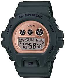 G-Shock Women's Digital Olive Resin Strap Watch 46mm