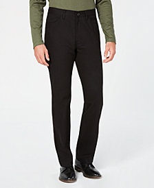Alfani Men's Regular-Fit Pants, Created for Macy's