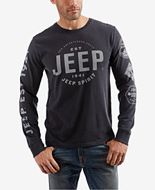 Lucky Brand Men's Jeep Graphic T-Shirt