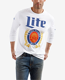 Lucky Brand Men's Miller Lite Graphic T-Shirt