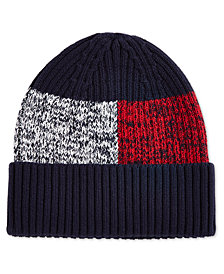 Tommy Hilfiger Men's Colorblocked Beanie, Created for Macy's