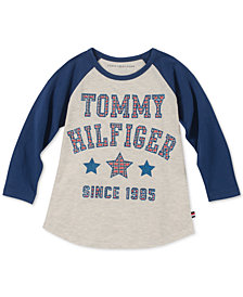 Tommy Hilfiger Big Girls Graphic-Print T-Shirt