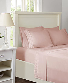 Intelligent Design Ruffled 6-PC Queen Sheet Set