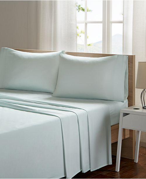JLA Home Sleep Philosophy Smart Cool Microfiber 4-PC King Sheet Set