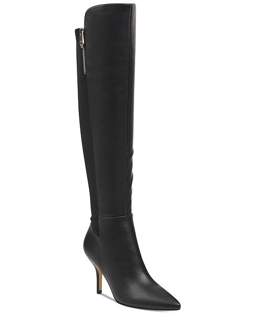 Marc Fisher Thora Over The Knee Boots Boots Shoes Macy S