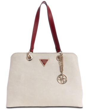 Lauri Shoulder Bag in Chalk/Gold