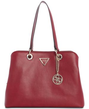 Lauri Shoulder Bag in Red/Gold