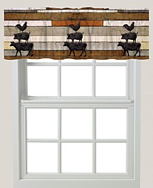 "Farm Animals 84"" Window Valance"