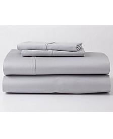 Premium Supima Cotton and Tencel Luxury Soft Twin Sheet Set