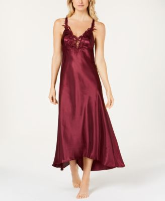 Stella Satin Venise Trim Nightgown