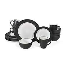 16-Pc. Harmony Red Dinnerware Set