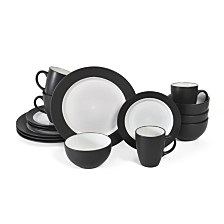 Pfaltzgraff Harmony Charcoal 16PC Set