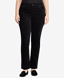 Lauren Ralph Lauren Plus Size Corduroy Pants