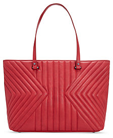 I.N.C. Cissy Quilted Tote, Created for Macy's