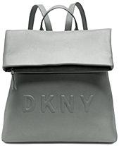 70b70a89300 DKNY Tilly Medium Logo Backpack, Created for Macy s