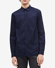 Calvin Klein Men's Single Pocket Indigo Shirt