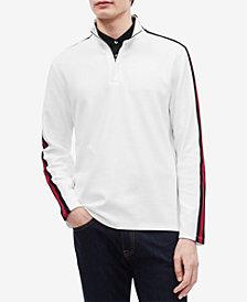 Calvin Klein Men's Striped Ribbed Pullover