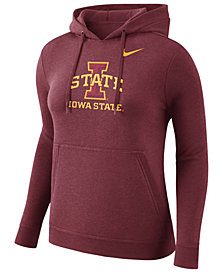 Nike Women's Iowa State Cyclones Club Hooded Sweatshirt
