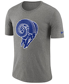 Nike Men's Los Angeles Rams Historic Crackle T-Shirt