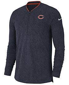 Nike Men's Chicago Bears Coaches Quarter-Zip Pullover