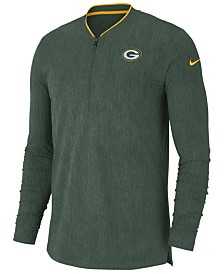 Nike Men s Green Bay Packers Elite Coaches Polo 2018 - Sports Fan ... cad5996e7