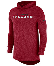 Nike Men's Atlanta Falcons Dri-Fit Cotton Slub On-Field Hooded T-Shirt