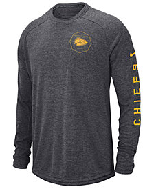 Nike Men's Kansas City Chiefs Stadium Long Sleeve T-Shirt