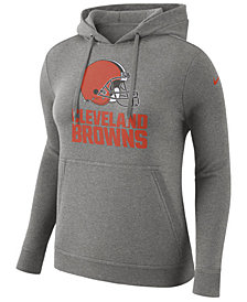 Nike Women's Cleveland Browns Club Pullover Hoodie