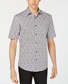 Alfani Men's Penguin-Print Shirt, Created for Macy's