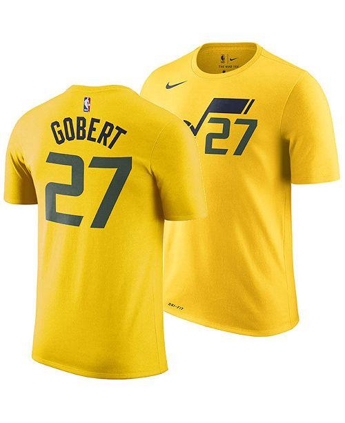 pretty nice c6328 f6bba Men's Rudy Gobert Utah Jazz Statement Player T-Shirt