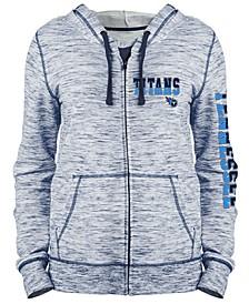 Women's Tennessee Titans Space Dye Full-Zip Hoodie