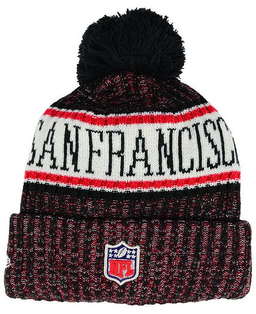 3cf30e41f8480 New Era Boys  San Francisco 49ers Sport Knit Hat   Reviews - Sports ...